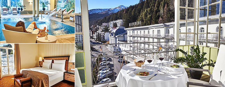 3 ÜN in Davos (CH) im 5* Hotel inkl. Frühstück, Minibar & Spa für 199,99€ p.P.