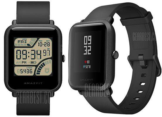 Xiaomi Huami AMAZFIT Bip Lite Smartwatch für 44,05€