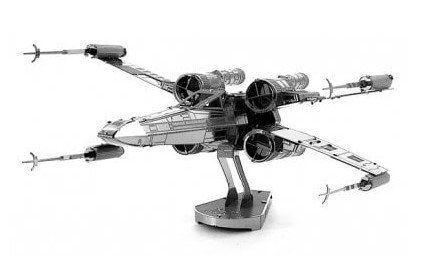 X wing Warplane Metal 3D Puzzle für 0,81€   Neukunden