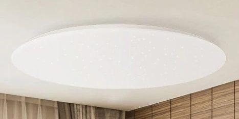 Xiaomi Yeelight Jiaoyue 480   dimmbare LED Deckenleuchte mit Appsteuerung für 74,54€   aus EU