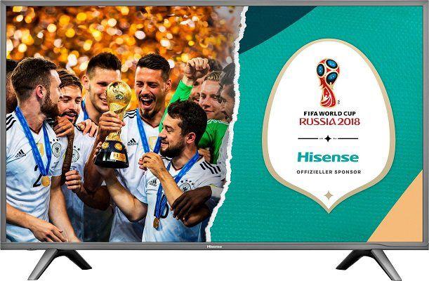 Hisense H49NEC5605 49 LED Fernseher (4K, Smart TV) für 405,94€ (statt 482€)