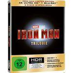 Iron Man – Trilogie (4K Ultra HD + Blu-ray) Steelbook für 43,99€ (statt 60€)