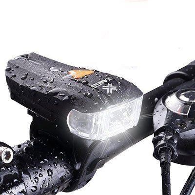 XANES SFL 01 600LM XPG + 2 LED Fahrradlampe für 6,53€ (statt 10€)