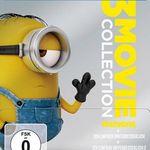 Minions – 3 Movie Collection – Limited Steelbook (Blu-ray) für 10,87€ (statt 16€)