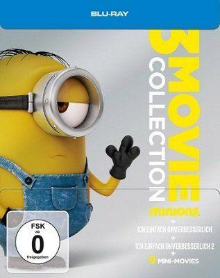 Minions   3 Movie Collection   Limited Steelbook (Blu ray) für 10,87€ (statt 16€)