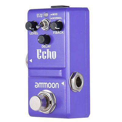 Amoon Effektpedal für Gitarren für 17,42€ (statt 30€)