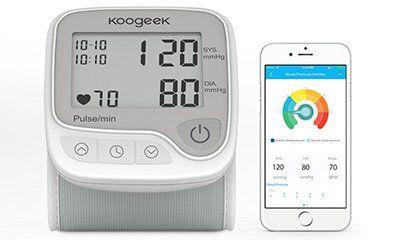 Elektronisches Handgelenk Blutdruckmessgerät mit LCD & App Anbindung für 19,99€ (statt 26€)