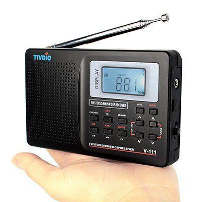 TIVDIO V 111   tragbares Radio für 9,99€ (statt 19€)