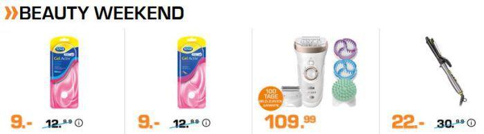 Saturn Weekend Sale: günstige TVs, Notebooks & Tablets, Beauty  u. Gesundheitsartikel + USK 18 Filme u. Games
