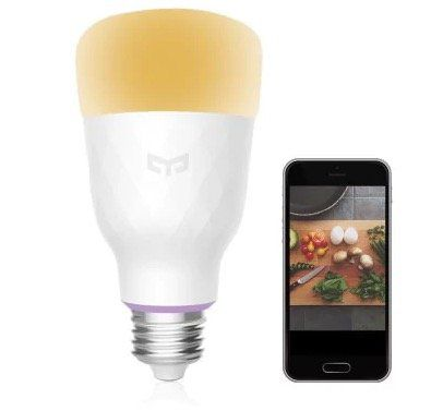 Yeelight LED Leuchte (2. Version) 10W mit RGB E27 für 18,05€