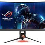 Asus Rog Swift PG27VQ – 27 Zoll WQHD curved Gaming-Monitor (Ausstellungsstück) + PED 2018 für 639€ (statt 754€)