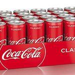 24 Dosen je 330ml Coca-Cola für 9,99€ zzgl. 6€ Pfand – nur Prime