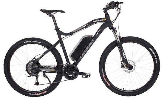 Leader E Bike Braver 27,5 Zoll (Pedelec) Mountainbike mit Shimano Deore / FD TX50 6 Schaltung für 649€   nur in A.T.U. Filialen