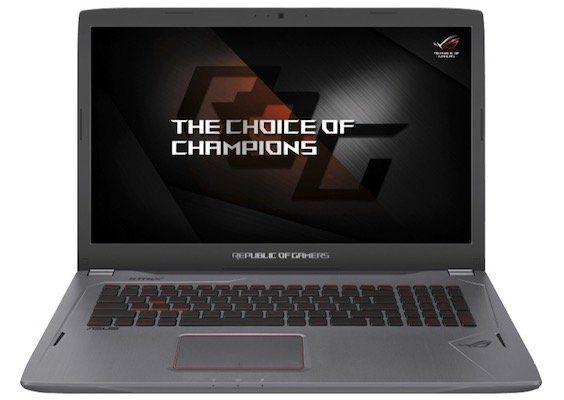Asus GL702VM GC301T   17,3 Zoll Full HD Gaming Notebook mit GTX 1060 für 999€ (statt 1.111€)