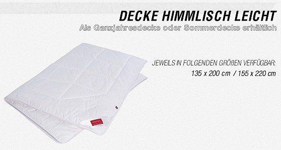 Hefel Sale mit Kissen, Unterbetten und Decken   z.B. Klima Plus Ganzjahresdecke nur 97,90€ (statt 129€)