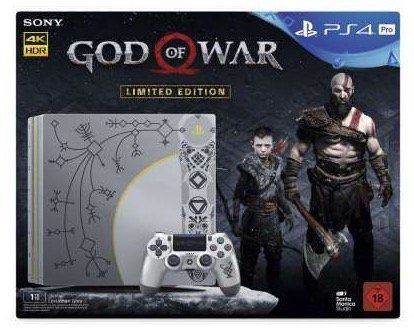 PlayStation 4 Pro 1TB   God of War Day 1 Edition für 436,45€ (statt 484€)