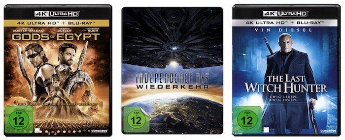 3er Pack 4K Blu rays für nur 50€ bei Saturn