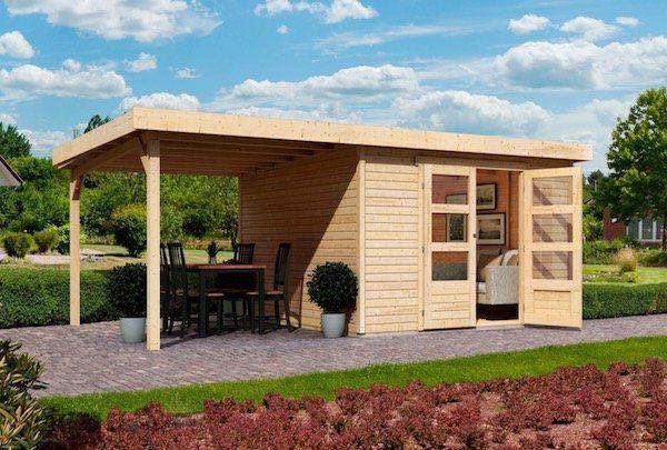 10% Rabatt auf Geräte  und Gartenhäuser   z.B. Karibu Arnis 3 Gartenhaus für 749,94€ (statt 804€)