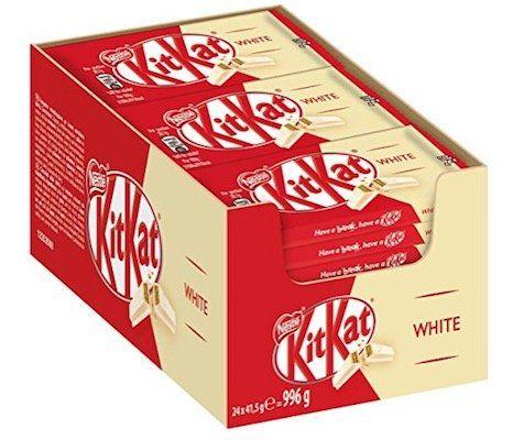 24er Pack Nestle KitKat Chunky White Schoko Riegel ab 9,99€ (statt 15€)
