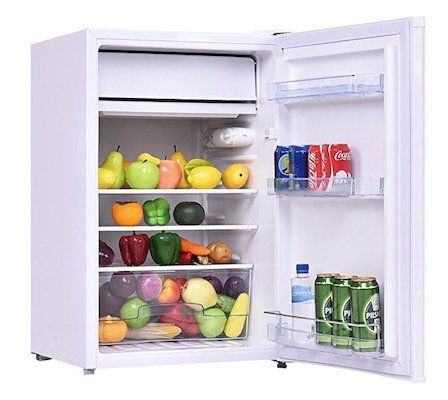 Costway EP22771 Kühlschrank mit Gefrierfach 123L für 136,99€ (statt 154€)