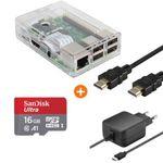 Raspberry Pi 3 Multimedia Bundle (Gehäuse, Speicherkarte, Netzteil, HDMI Kabel) für 53,98€ (statt 65€)