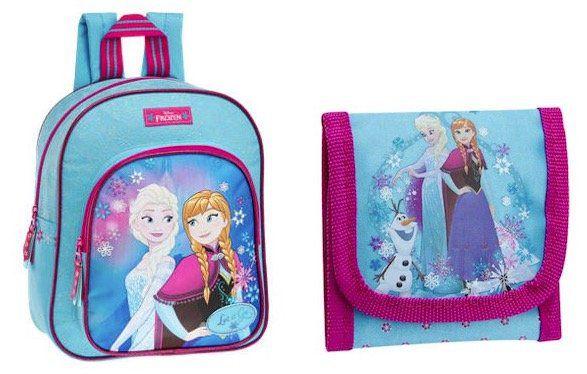Disney Frozen Kinder Rucksack für 6,95€ (statt 10€) + Geldbörse für 2,95€
