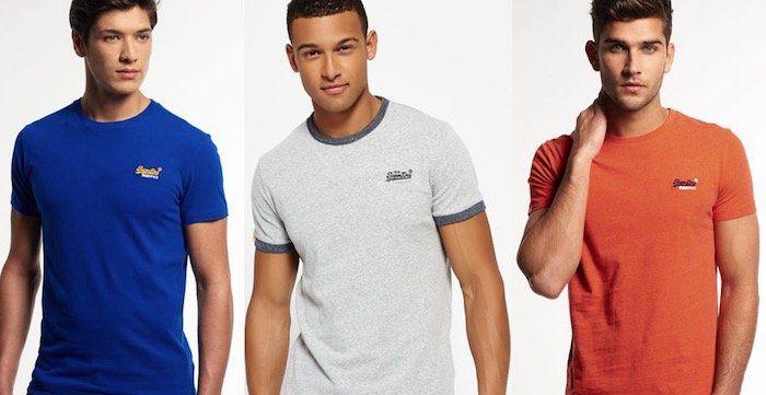 Superdry Herren T Shirts bis L für je 11,95€