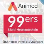 🔥 2 ÜN zu zweit mit Frühstück in einem von über 100 Animod Hotels 🏖️ (europaweit) für 89,98€