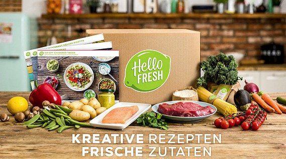 HelloFresh: 1 Box mit 3 Gerichten für 24,99€ (statt 43€) oder 2 Boxen mit 6 Gerichten für 45,99€ (statt 86€)   nur Neukunden