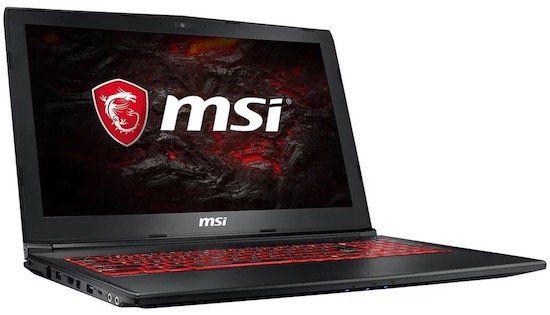 MSI GL62M Gaming Notebook mit GTX 1050ti (4GB) für 769€ (statt 871€)