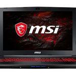 MSI GL62M Gaming-Notebook mit GTX 1050ti (4GB) für 769€ (statt 871€)