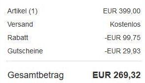 25% Rabatt auf ausgewählte Fuxtec Garten Artikel bei eBay + 10% bzw. 15% Gutschein   z.B. Fuxtec RM5196eS Rasenmäher für 269,32€ (statt 399€)