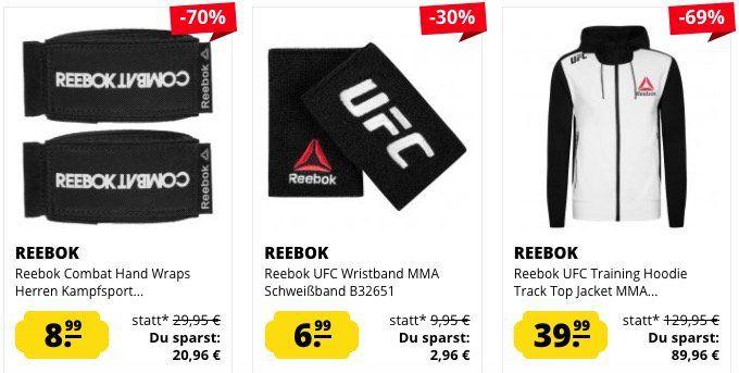 Reebok UFC Sale   z.B. Conor McGregor UFC Fight Shirt für 23,99€ (statt 29€)