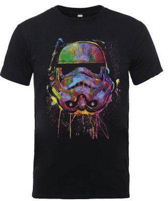 Star Wars Paint Splat Stormtrooper T Shirt für 10,99€ (statt 18€)