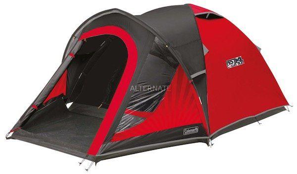 Bis zu 30% Rabatt auf Camping Ausrüstung   z.B. Coleman Blackout 4   4 Personen Festival Zelt für 145,89€ (statt 187€)