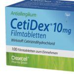 100er Pack Cetidex 10mg Filmtabletten für nur 5,95€ (statt 10€)