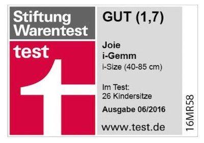 Joie i Gemm Denim Zest Babyschale für 79,99€(statt 110€)   Stiftung Warentest Gut