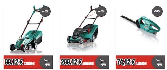 Kleiner Bosch Sale bei Top12   z.B. Akku Heckenschere inkl. Akku für 74,12€ (statt 110€)