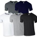6er Set GILDAN T-Shirts für 17,99€