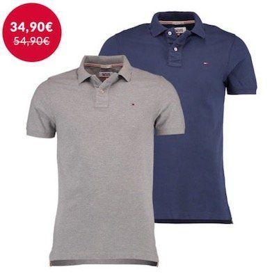 Hilfiger Denim Original Flag Herren Poloshirt für je 34,90€ (statt 49€)   nur S und M