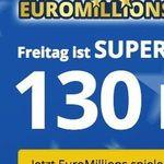 3 Felder EuroMillions (130 Mio. Jackpot!) für nur 2,75€ – nur Lottohelden Neukunden