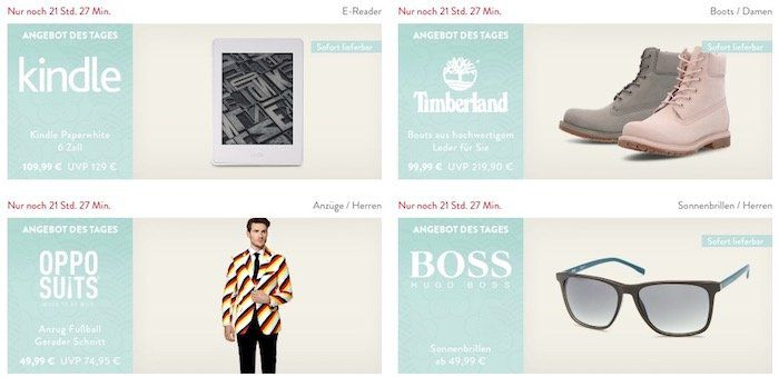 Knaller! 15% bei brands4friends   z.B. Kindle Paperwhite nur 93,49€ (statt 110€)