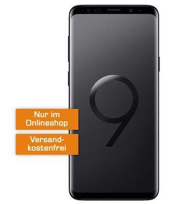 TOP! Samsung Galaxy S9 Plus für 49€ + Telekom Flat mit 4GB für 36,99€ mtl.