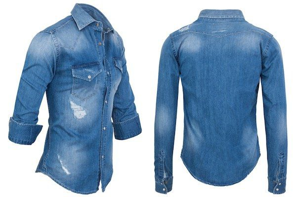 Rock Creek Herren Jeanshemd in Regular Fit für 27,90€ (statt 35€)