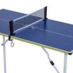 Kleine Tischtennisplatte mit 90 x 45 cm für 28,48€ (statt 50€)