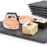 """6er Set Sänger Schieferplatten """"Sushi"""" 22 x 16cm für 12,99€ (statt 18€)"""
