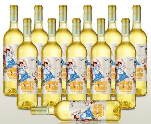 12 Flaschen Senora Guason Blanco 2016 fruchtiger Weißwein für 35,69€