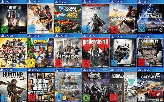 3 PS4 Spiele für 79€ bei Saturn