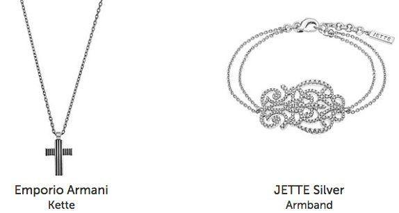 Christ Outlet mit 20% auf ausgewählte Silber Artikel   z.B. Emporio Armani Flow Kette mit Kreuz für 71,92€ (statt 129€)