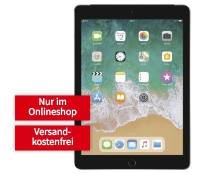 iPad 2018 mit 32GB LTE für 1€ + Telekom 4GB LTE Datenflat für 19,99€ mtl.